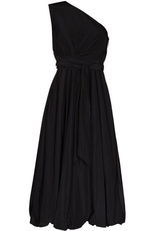 tibi Mittellanges One-Shoulder-Kleid
