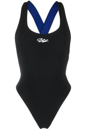 Off-White Damen Badeanzüge - Badeanzug mit Logo