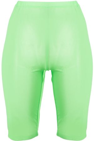 DAVID KOMA Damen Shorts - Shorts aus Netz