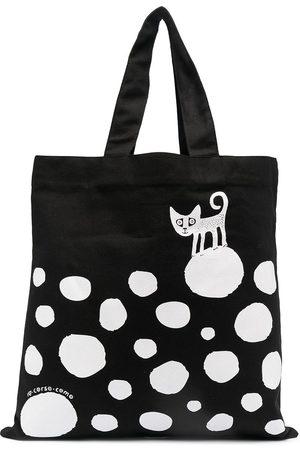 10 CORSO COMO Damen Handtaschen - Gepunkteter Shopper