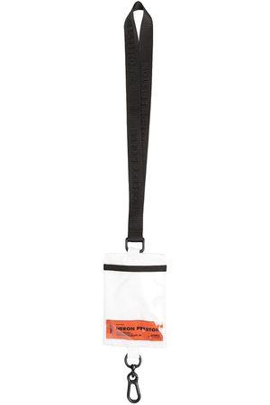 Heron Preston Herren Schlüsselanhänger - Schlüsselband mit Logo-Patch