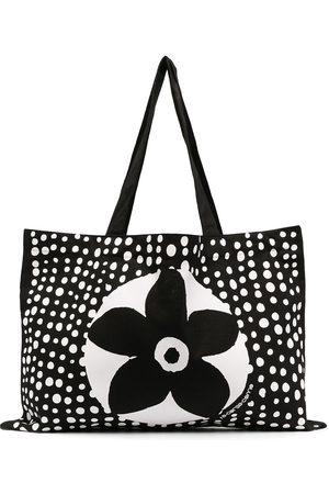10 CORSO COMO Shopper mit Blumen-Print