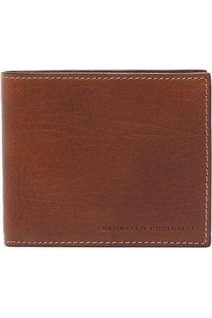 Brunello Cucinelli Portemonnaie mit Logo-Prägung