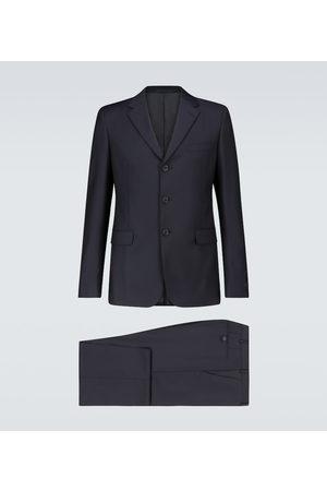 Prada Anzug aus Wolle und Mohair schwarz