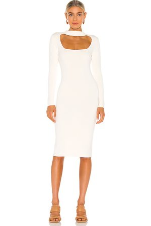 525 America Cut Out Mock Neck Dress in . Size M, S, XS.
