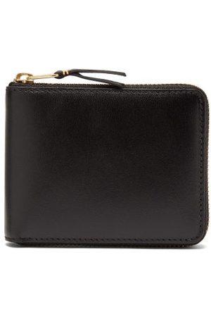 Comme des Garçons Wallet Zip-around Leather Bi-fold Wallet