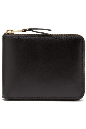Comme des Garçons Zip-around Leather Bi-fold Wallet