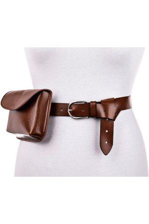 Vanzetti Damen Gürtel-Taschenset - 13x16x3cm (HxBxT), One Size