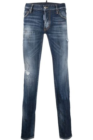 """Dsquared2 Distressed-Jeans mit """"Bro""""-Patch"""