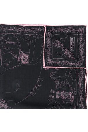 Emilio Pucci Scorci Fiorentini' Schal mit Print