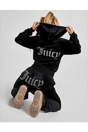 Juicy Couture Damen Jogginghosen - Diamante Velour Trainingshose Damen