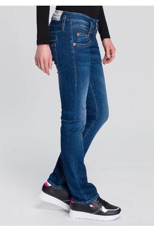 Herrlicher Gerade Jeans »PITCH SLIM ORGANIC« umweltfreundlich dank Kitotex Technology