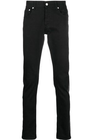 Alexander McQueen Jeans mit Kontrasteinsatz