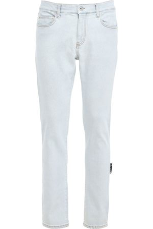 OFF-WHITE Enge Jeans Aus Stretch-denim