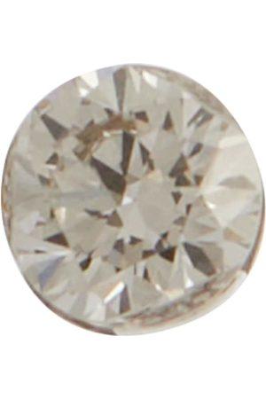 Maria Tash Einzelner Ohrring Invisible aus 14kt Weißgold mit Diamanten
