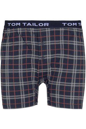 TOM TAILOR Herren Jersey Karo Boxershorts, , Gr.S/4