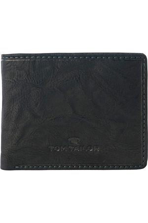 TOM TAILOR Herren aufklappbare Geldbörse aus Leder, , unifarben, Gr.OneSize