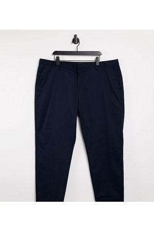 River Island Big & Tall – Schmale Chinohose in