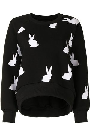 Cynthia Rowley Damen Sweatshirts - Sweatshirt mit Hasen-Print