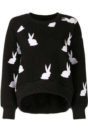Cynthia Rowley Sweatshirt mit Hasen-Print