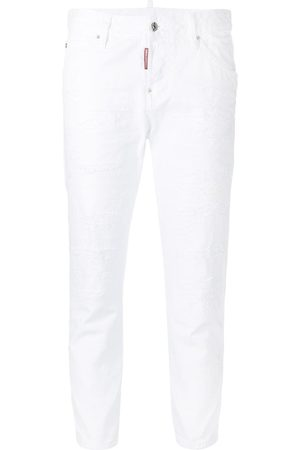 Dsquared2 Mädchen Cropped - Cool Girl' Cropped-Jeans