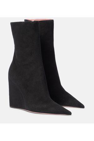 Amina Muaddi Ankle Boots Pernille