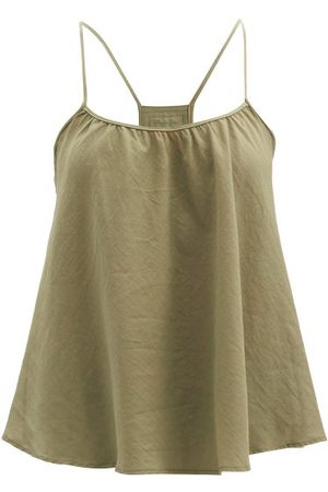 Loup Charmant Scoop-neck Organic-cotton Cami Top