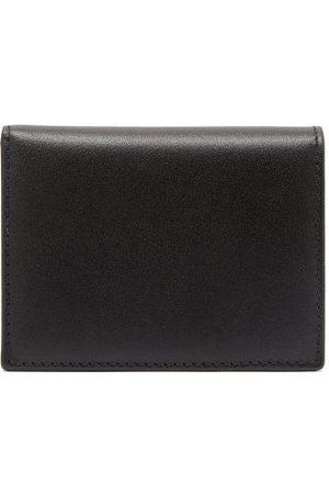 Comme des Garçons Wallet Grained-leather Bi-fold Wallet