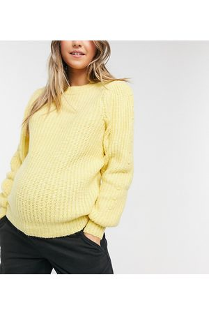 Pieces Maternity – Strickpullover in