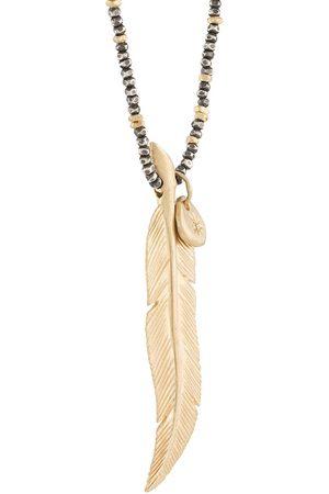 M. COHEN Herren Halsketten - Perlenkette mit Anhänger