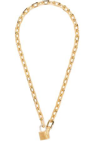 AMBUSH Halskette mit kleinem Schloss