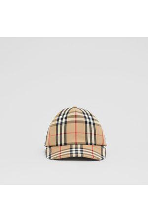 Burberry Damen Hüte - Basecap mit Vintage Check-Muster und Logo-Applikation
