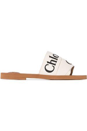 Chloé Damen Clogs & Pantoletten - Woody' Pantoletten mit Logo