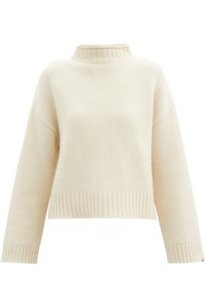 EXTREME CASHMERE No.163 Ken Stretch-cashmere Sweater