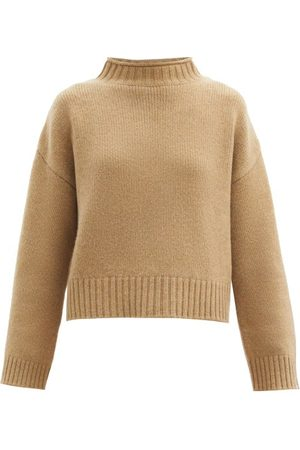 EXTREME CASHMERE No.163 Ken High-neck Stretch-cashmere Sweater