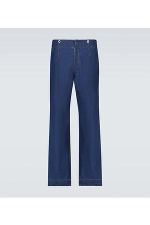 Maison Margiela Verkürzte Wide Jeans