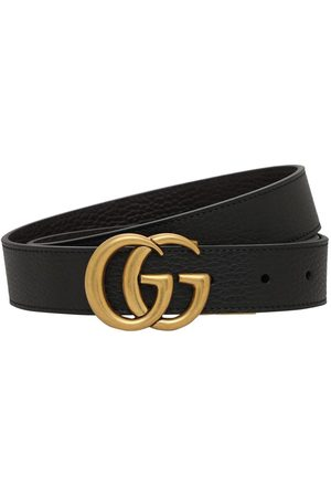Gucci 3cm Breiter, Wendbarer Gg-ledergürtel