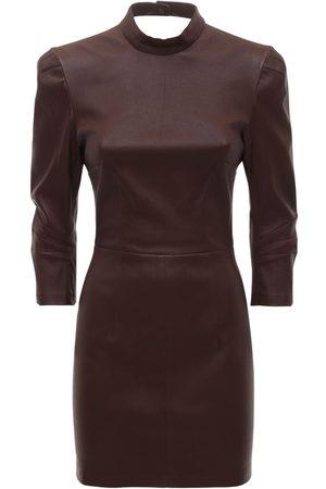 Zeynep Arcay Damen Freizeitkleider - Minikleid Aus Stretch-leder