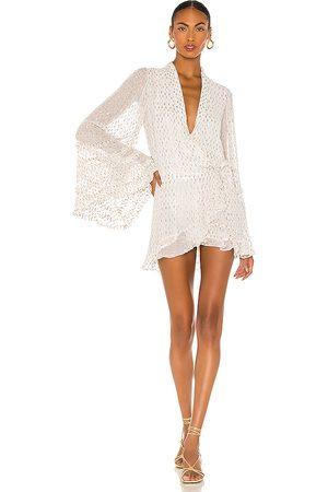 ROCOCO SAND Noi Mini Dress in . Size M.