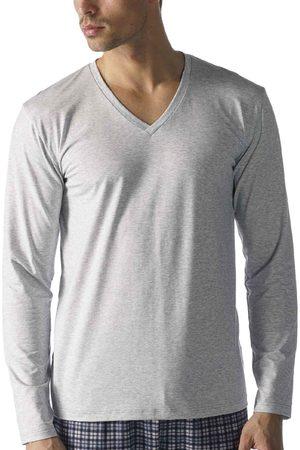 Mey Serie Dry Cotton Langarmshirt, V-Ausschnitt