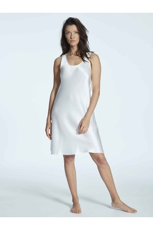 Eva B. Bitzer Silk Satin Seiden-Nachtkleid, Länge 94cm