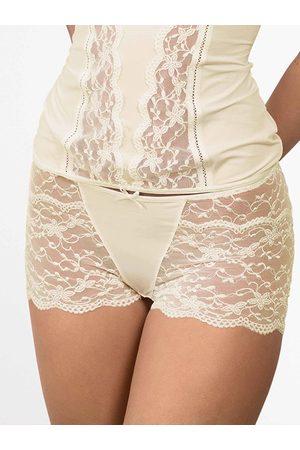 Nina Von C. Damen Shorts - Silver Edition Panty
