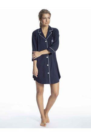 Lauren by Ralph Lauren Heritage Knits Nachthemd, Länge 90 cm