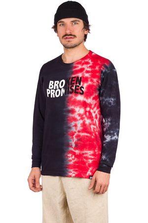 Broken Promises Herren Longsleeves - Logo Split Longsleeve T-Shirt