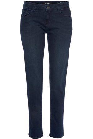 Replay Slim-fit-Jeans »Faaby« im Five-Pocket-Style in leicht verkürzter Form