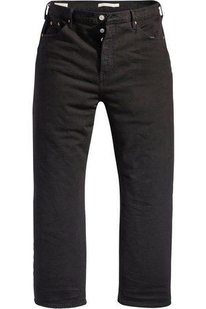 Levi's Ankle-Jeans »Ribcage Straight Ankle« mit geknöpftem Hosenschlitz