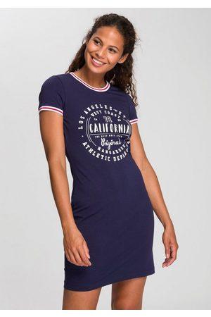 KangaROOS Jerseykleid mit Glitzer-Print vorne