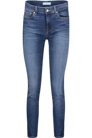 "7 for all Mankind Damen Jeans ""Mid Rise Roxanne B(Air)"" Slim Fit"