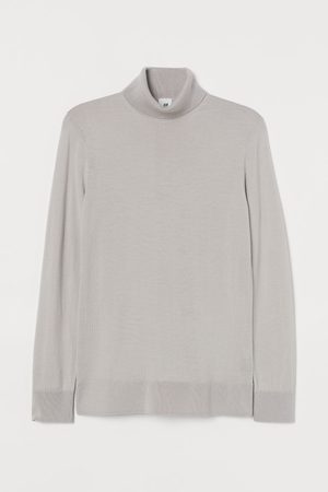 H&M Wollpullover Muscle Fit