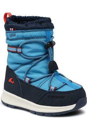 Viking Jungen Winterstiefel - Asak Gtx GORE-TEX 3-88300-3505 Blue/Navy